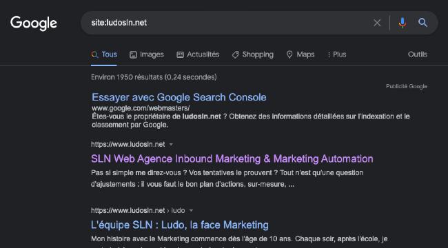 Connaître le nombre de pages de son site indéxées par Google